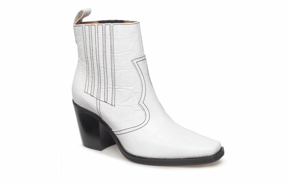 Sko fra Ganni |4199,-| https://www.boozt.com/no/no/ganni/callie-ankle-boots_17244775/17244777?navId=67497&group=listing&position=1000000