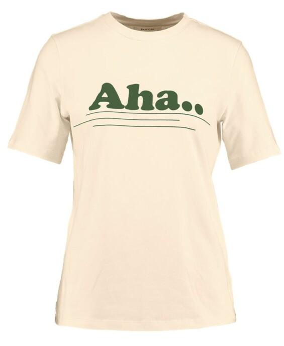 T-skjorte fra Moss Copenhagen |249,-| https://www.zalando.no/moss-copenhagen-oui-aletta-tee-t-shirts-med-print-ecrugreen-m0y21d01o-a11.html