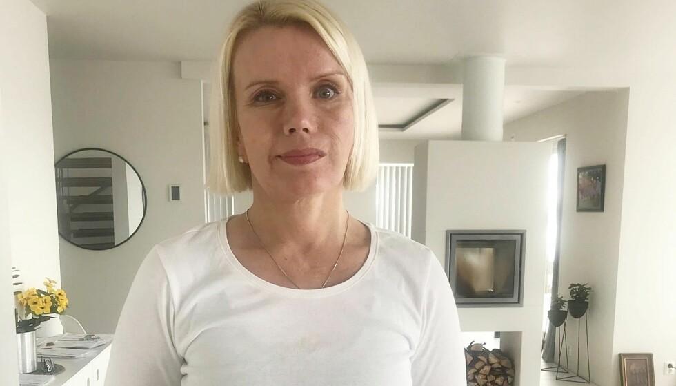 FIKK HJERNESLAG I UNG ALDER: Da Lena som 23-åring fikk de første symptomene på hjerneslag, trodde legene det var migrene. Foto: Privat