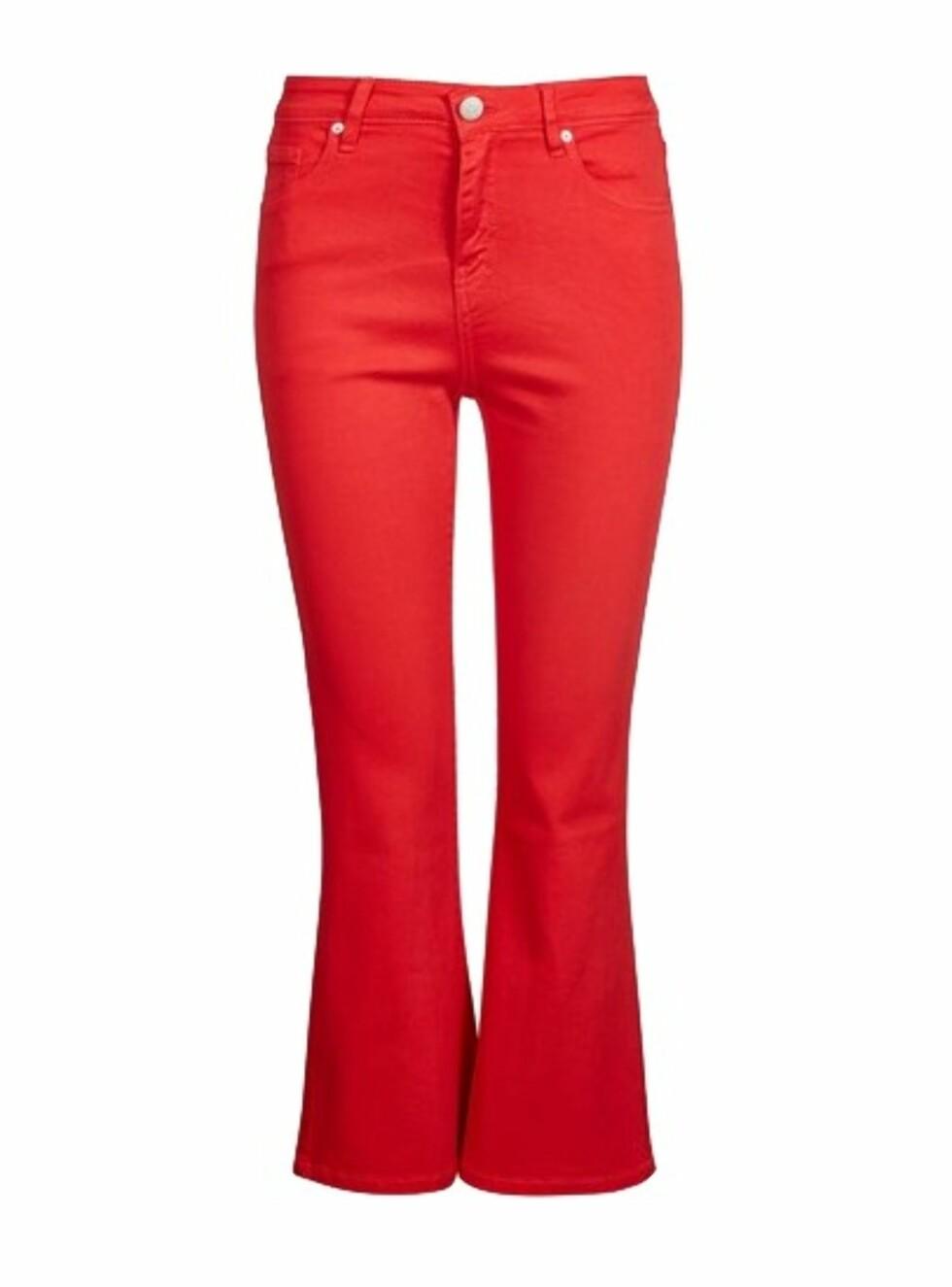 Bukse fra Cubus |299,-|https://cubus.com/no/p/bukser/jeans/kick-flare-twill-jeans/7216402_F370