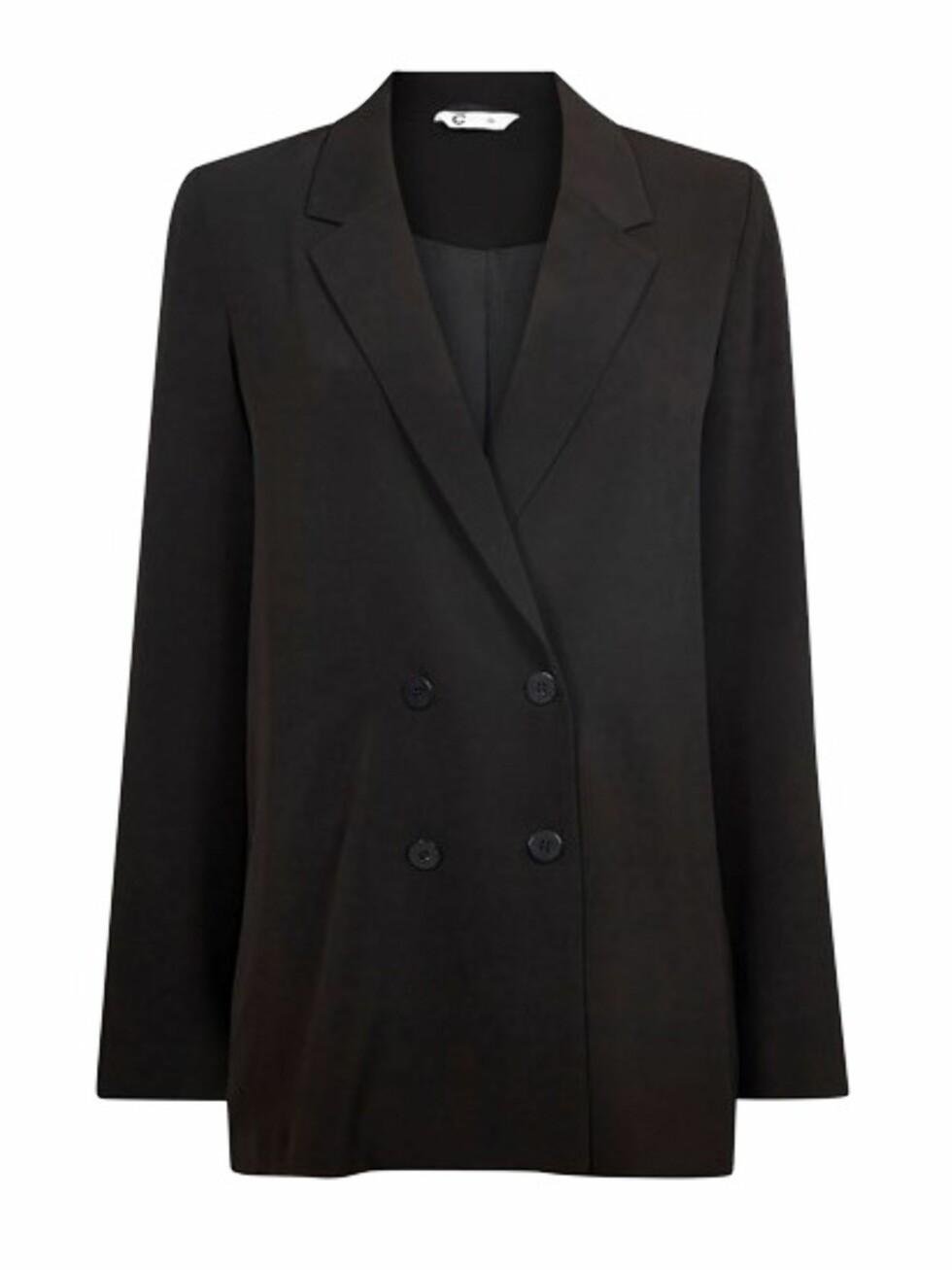 Blazer fra Cubus |399,-|https://cubus.com/no/p/yttertoy/blazere/jumi-dobbelspent-blazer/7217852_F990