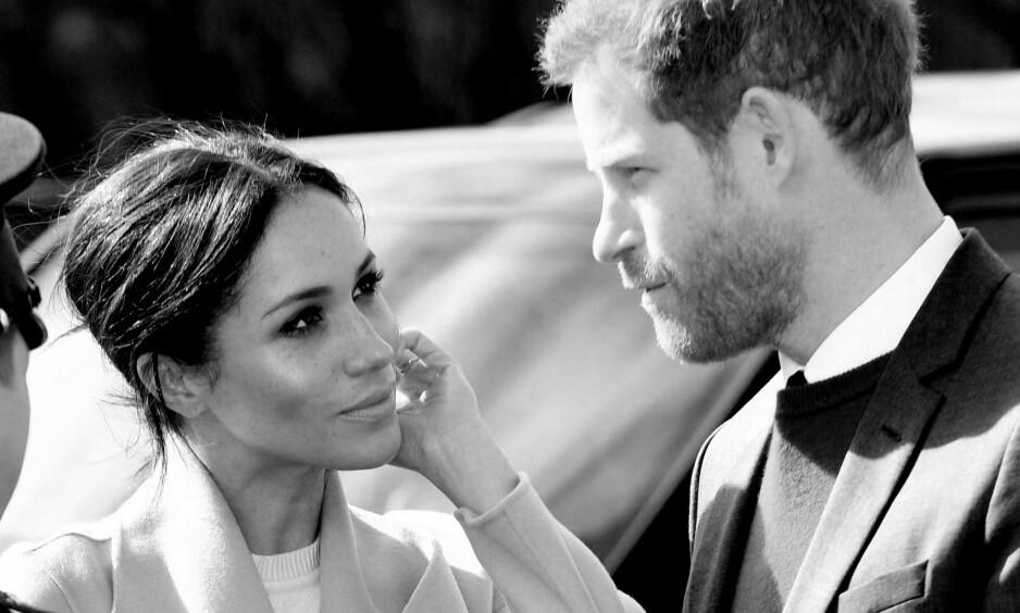 <strong>PRINS HARRY OG MEGHAN MARKLE:</strong> Den 19. mai gifter prins Harry og Meghan Markle seg på Windsor Castle. FOTO: NTB Scanpix