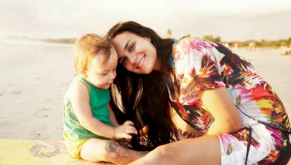 DOULA: Da Aminah Juni Cittadella Jacobsen fødte sønnen i 2012 hadde hun selv med seg en doula. FOTO: @doulaminah