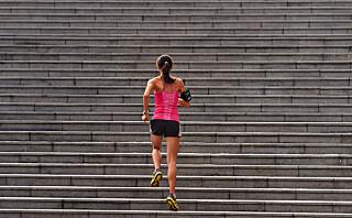 Så effektivt er trappeløp