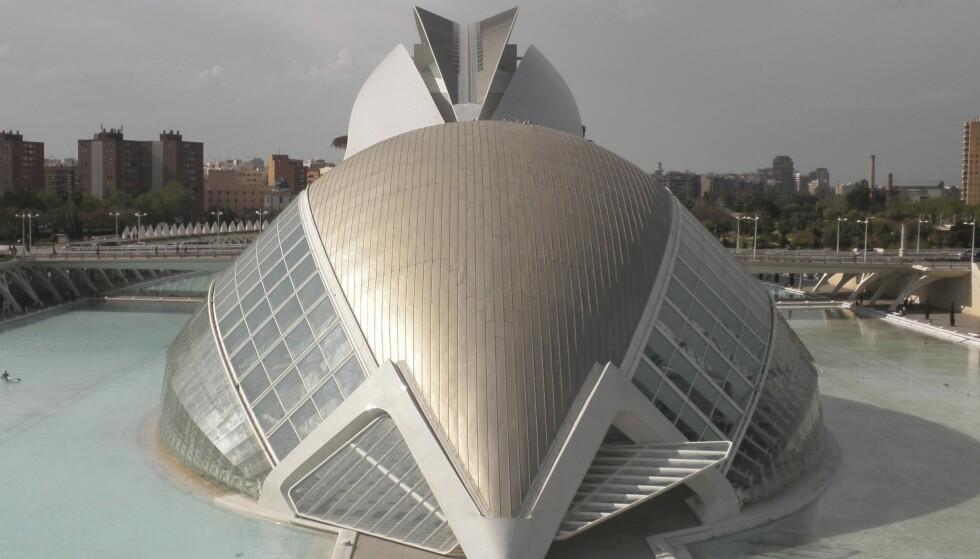 KULTURELT: Området i nedre del av Turia-parken er blit omgjort til opera, museum og oseanografi.