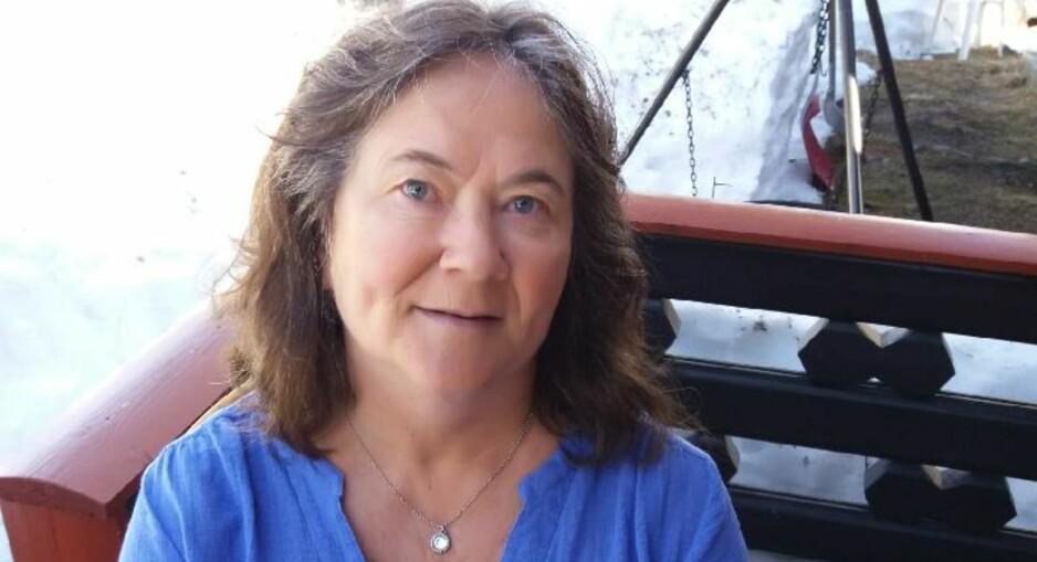 FAMILIÆR HYPERKOLESTEROLEMI: : - Jeg har hatt en redsel for å bli syk, forteller Kate Mysen om det å ha arvelig høyt kolesterol. FOTO: Privat