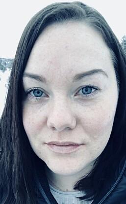 BLE SKUFFET: Annja ble ekstremt skuffet da hun ikke fikk gjennomført fedmeoperasjonen, men i ettertid har hun skjønt at hun var heldig. FOTO: Privat