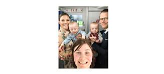 - Victoria sa at det var sterkt gjort å reise alene med to små babyer