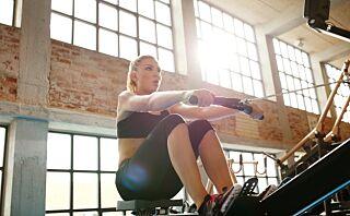Roing forbrenner mye og involverer mange muskler
