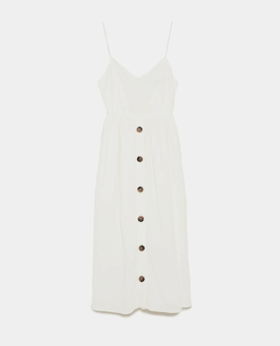 Kjole fra Zara |400,-| https://www.zara.com/no/no/kjole-med-knute-i-rygg-p02590037.html?v1=5931592&v2=1032501