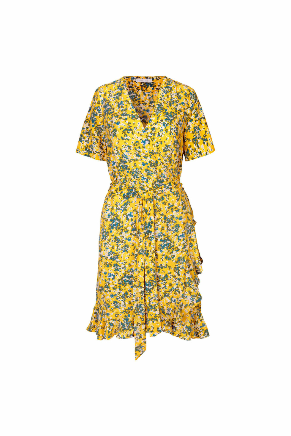 Kjole fra Samsøe Samsøe |800,-| https://www.samsoe.com/da/woman/apparel/dresses/midi-dresses/limon-ss-dress-aop-6515/F18202900.html?dwvar_F18202900_color=SOLEIL%20JARDIN&dwvar_F18202900_size=XXS