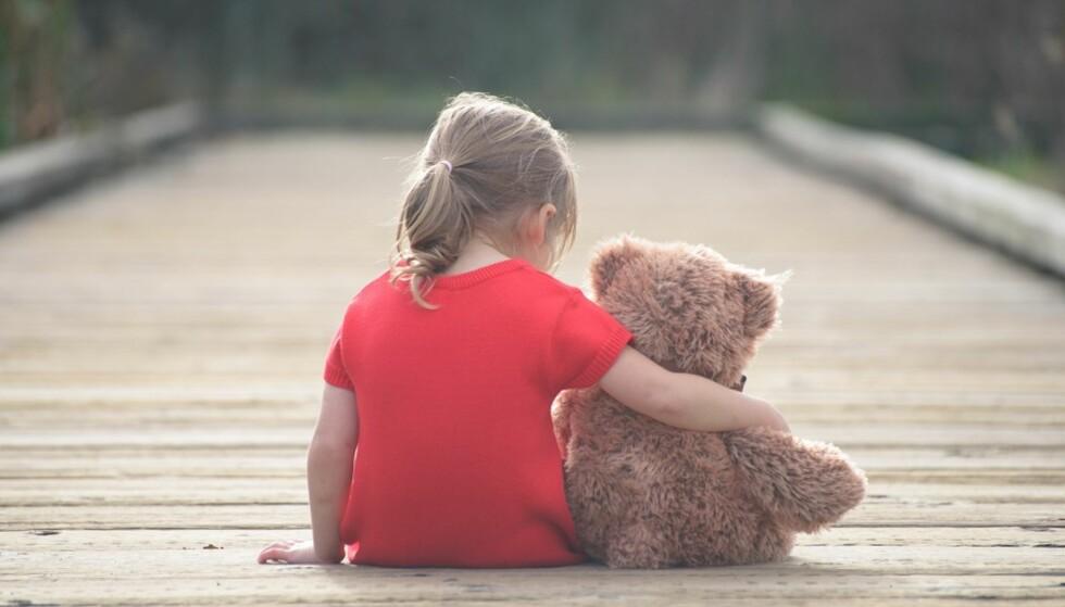 LETTERE Å SI I FRA: Dersom barn har kunnskap om seksualitet vil det være lettere for dem å snakke med en voksen. FOTO: NTB Scanpix