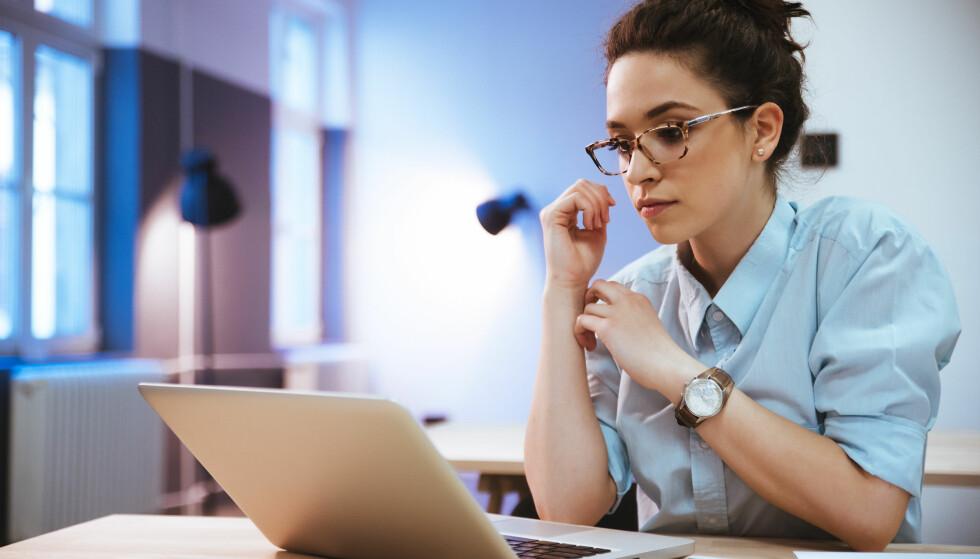 JOBBSØKING: Føler du rekrutteringstesten ga helt gale svar på hvem du er, kan det være lurt å si ifra. FOTO: NTB Scanpix