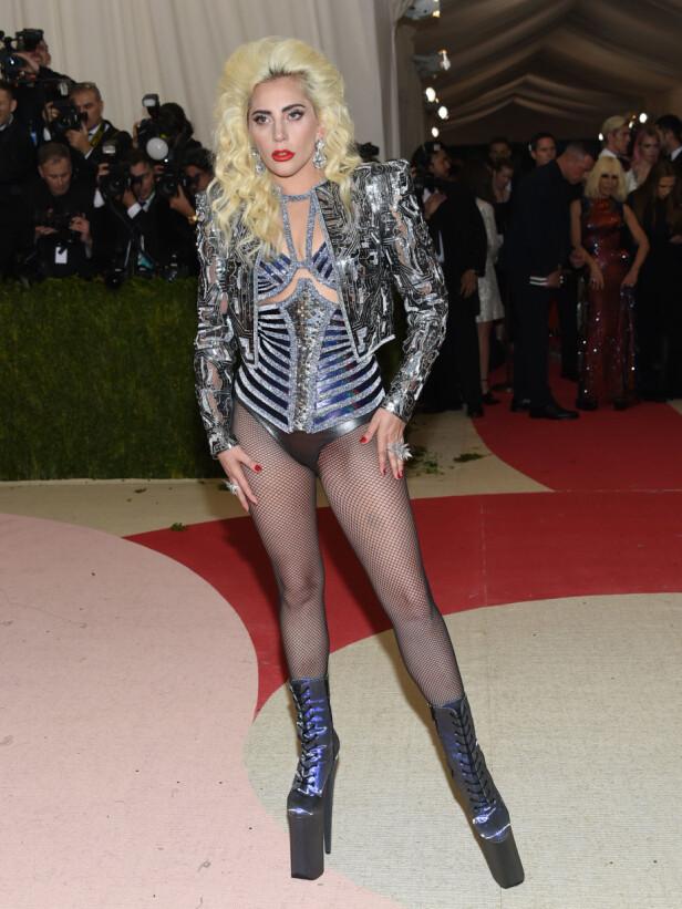 LADY GAGA: Hadde du klart å gå i skoene til Lady Gaga? Foto: Scanpix