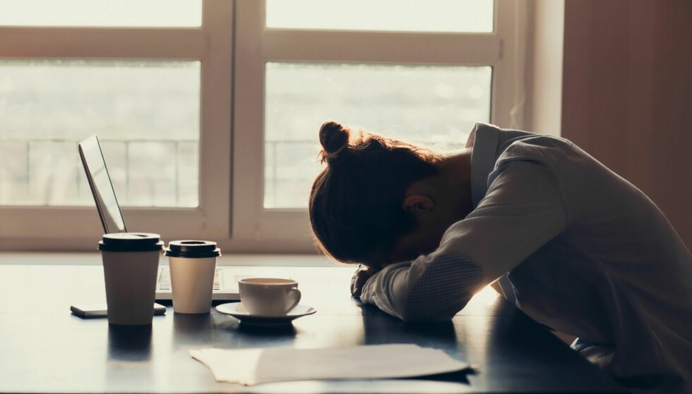 FRUSTRASJON: Underliggende problemer kan føre til konflikter på jobb. FOTO: Shutterstock
