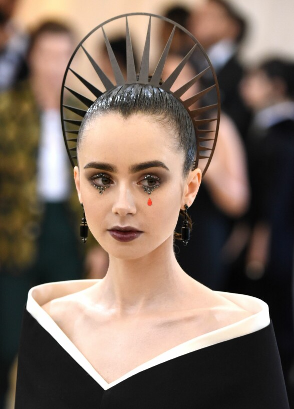 Lily Collins Foto: Scanpix