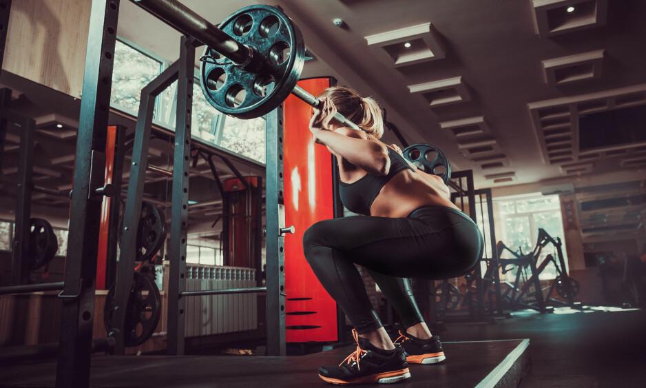 TRENE ARMER: Bentrening kan faktisk være med på å øke styrken i armene. FOTO: NTB Scanpix