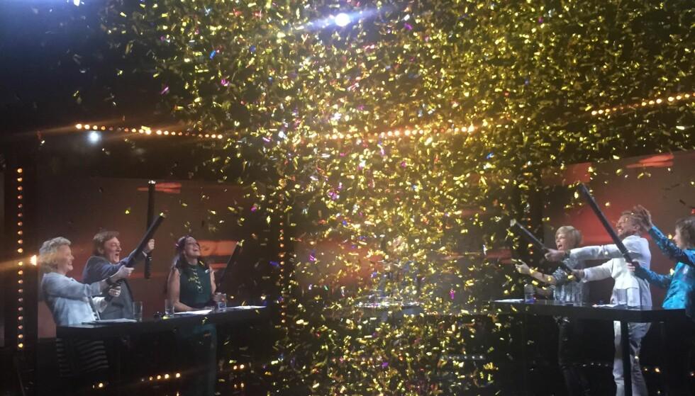 KONFETTIREGN: - Jeg elsker Eurovision! Jeg elsker det med ekte lidenskap, og helt uten ironisk distanse. Jeg forguder sirkuset som følger med, og jeg fryder meg over det rare, det originale, det stygge, det vakre, det geniale og det håpløse, som hvert eneste år entrer scener over hele Europa.
