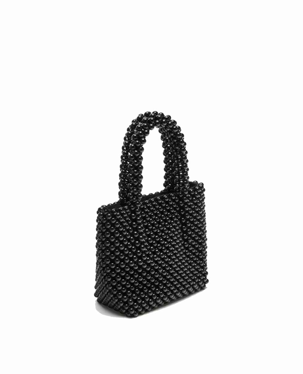 Veske fra Zara |349,-| https://www.zara.com/no/no/mini-shopper-med-sm%C3%A5-kuler-p12422304.html?v1=5674510&v2=819022