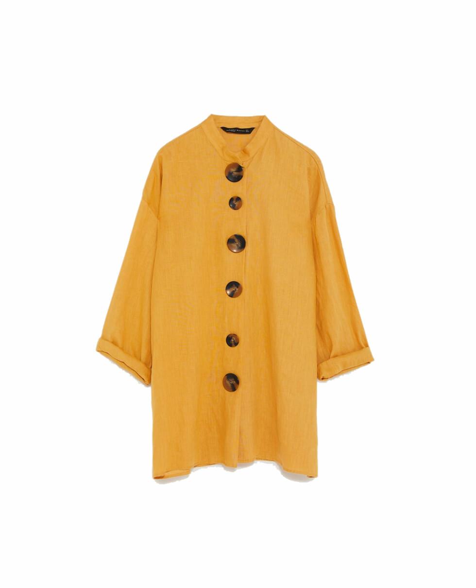Skjorte fra Zara |549,-| https://www.zara.com/no/no/linskjorte-med-knapper-p04043099.html?v1=6363536&v2=719021
