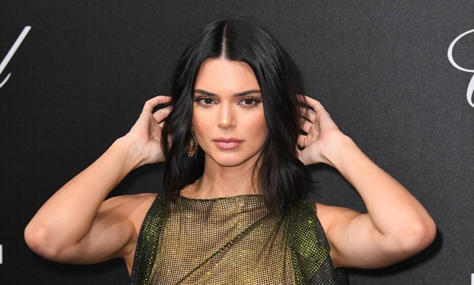 KENDALL JENNER: Kendall Jenner overrasket med flere gjennomsiktige kjoler under filmfestivalen i Cannes. FOTO: NTB scanpix