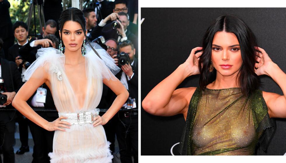 CANNES: Her er Kendall Jenner under filmfestivalen i Cannes. FOTO: NTB scanpix
