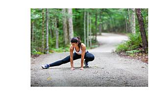 Bør man tøye ut etter en hard treningsøkt?