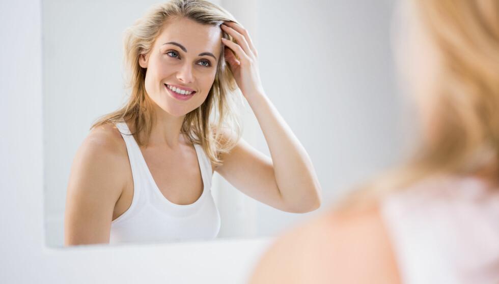 GRÅTT HÅR: Når du får grått hår avhenger hovedsakelig av genetikk. FOTO: NTB Scanpix