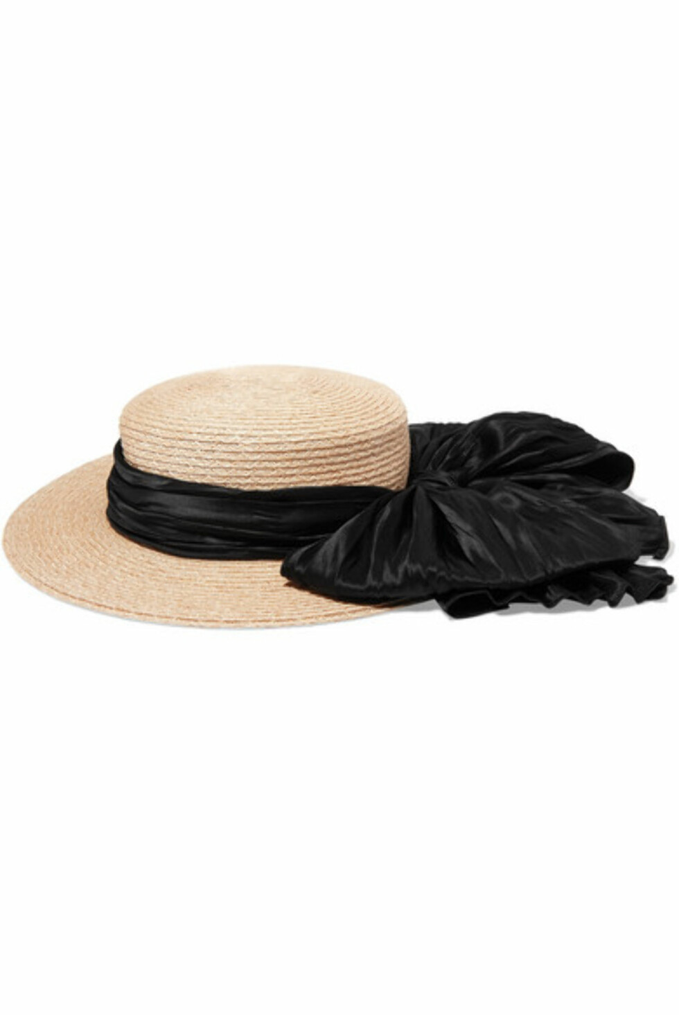 Hatt fra Eugenia Kim |300,-| https://www.net-a-porter.com/no/en/product/995878/eugenia_kim/brigitte-satin-trimmed-hemp-boater