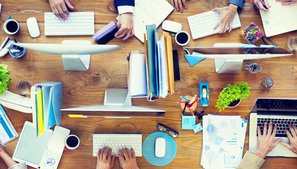 TILPASS DEG: Det er lurt å tilpasse deg arbeidsplassen på en bevisst måte. FOTO: Shutterstock