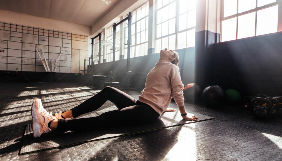 KVISER: - På grunn av mye svette og økt talgproduksjon er det mange som får kviser av trening. Ved mye hard trening vil testosteronverdiene øke, som igjen kan føre til mer kviser, sier eksperten. FOTO: NTB Scanpix