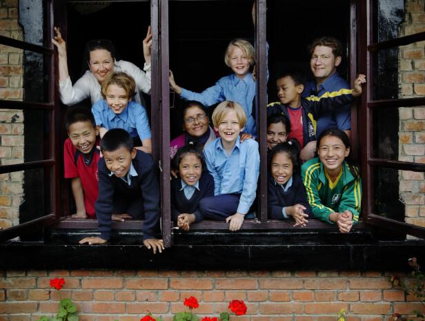 Barna som bor i barnebyen i Nepal har i ung alder mistet det det tryggeste de har - foreldrene sine. Flere av dem har opplevd ting det nærmest er umulig å forestille seg. Foto: Nina Ruud/SOS-barnebyer