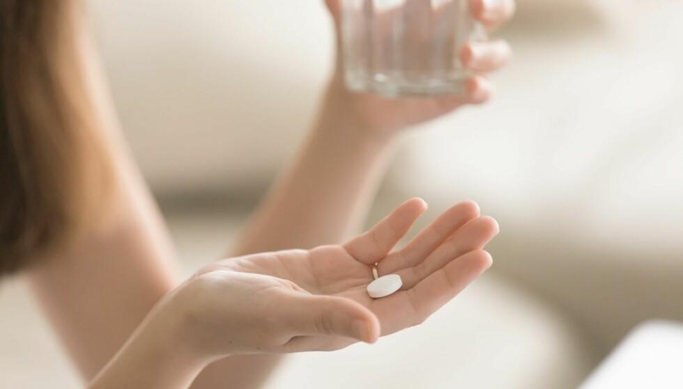 UPROBLEMATISK: Det gjør ingenting å ta smertestillende en gang i blant. FOTO: Shutterstock
