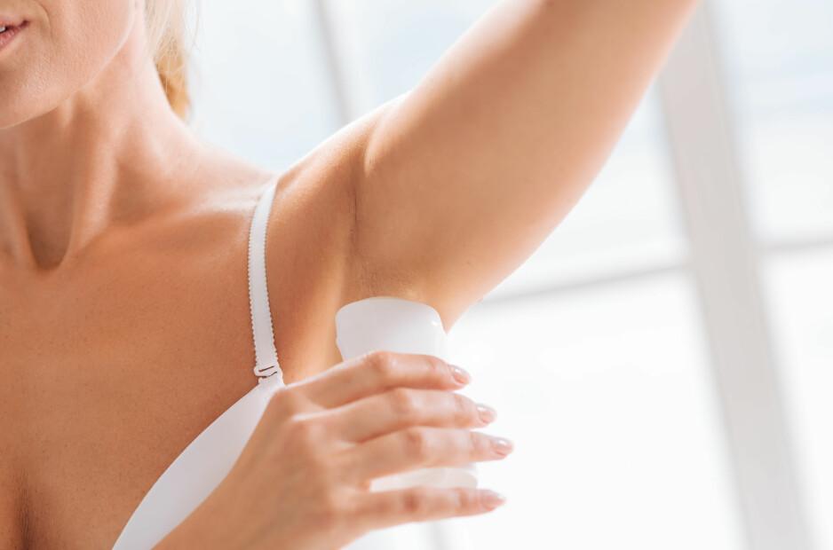 SVETTELUKT: Som regel vil en vask og litt deodorant gjøre susen, men i noen perioder der svettelukten bare er unormalt stram. FOTO: NTB scanpix