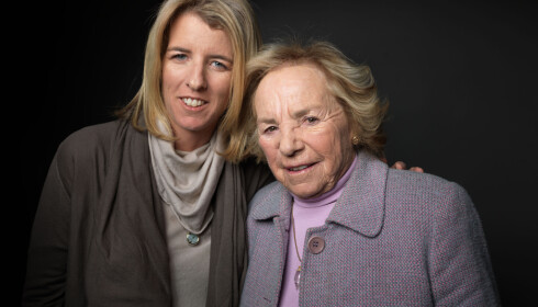 <strong>MOR OG DATTER:</strong> I 2012 lagde filmskaper Rory Kennedy en dokumentar om sin mor Ethel Kennedy. FOTO: NTB Scanpix