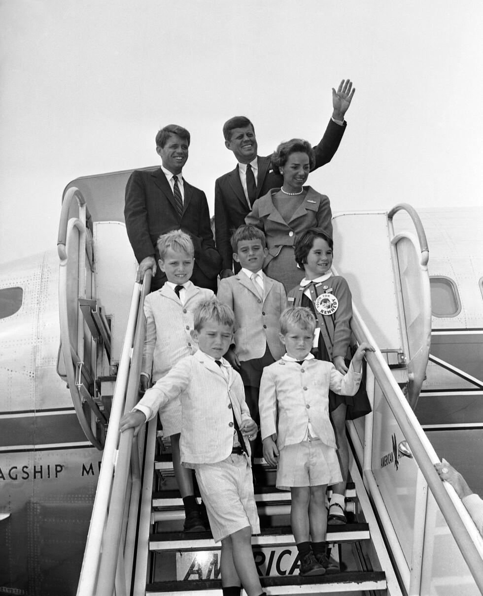 Sen. John F. Kennedy and Robert Kennedy