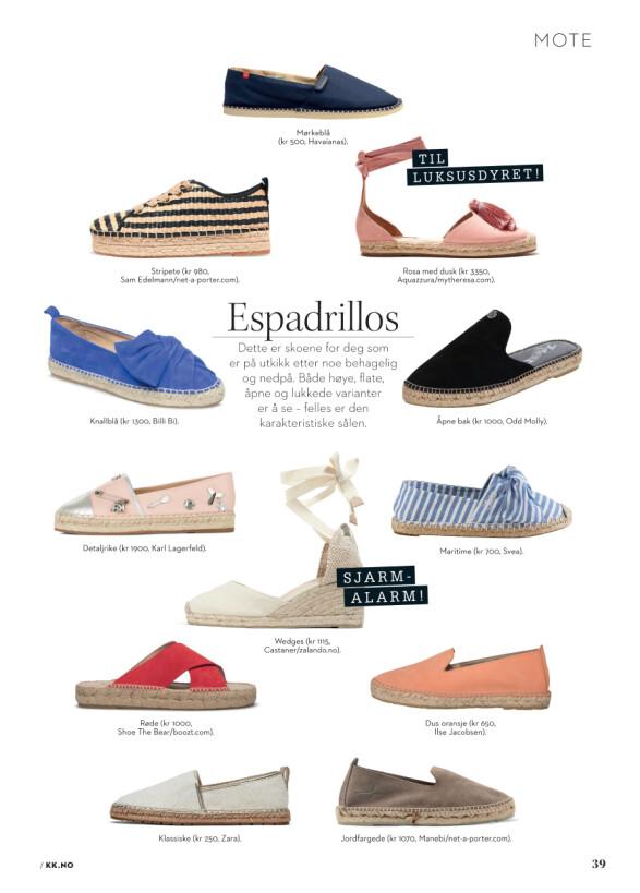 Skoene som sier sommer!