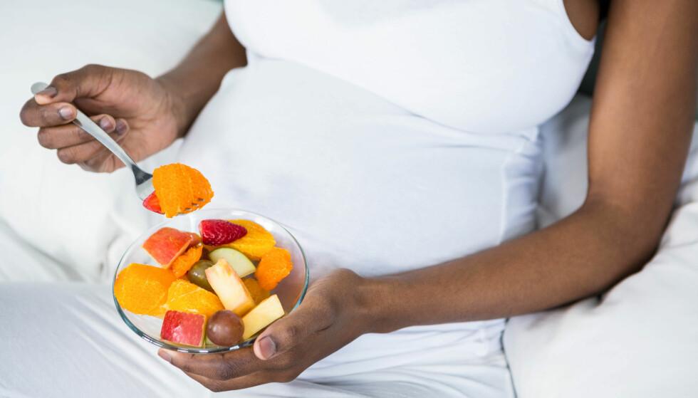 SVANGERSKAPSDILLA: Enkelte får økt appetitt på enkelte matvarer, mens andre ikke klarer å spise noe. Foto: Scanpix
