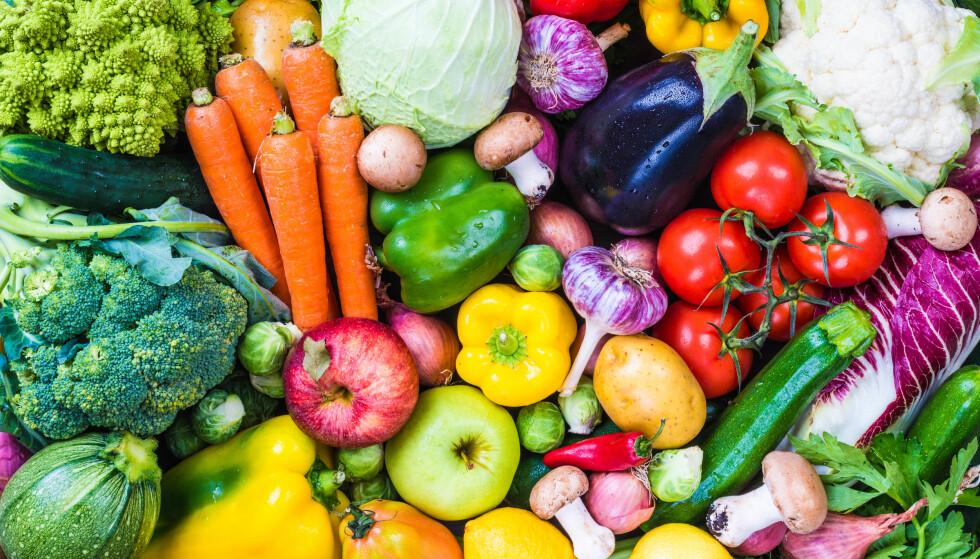 KJØR PÅ: Du kan spise store mengder grønnsaker før du kommer opp i 2000 kalorier. Og da får du vitaminer, mineraler og fiber med på kjøpet. Foto: Thinkstock.com