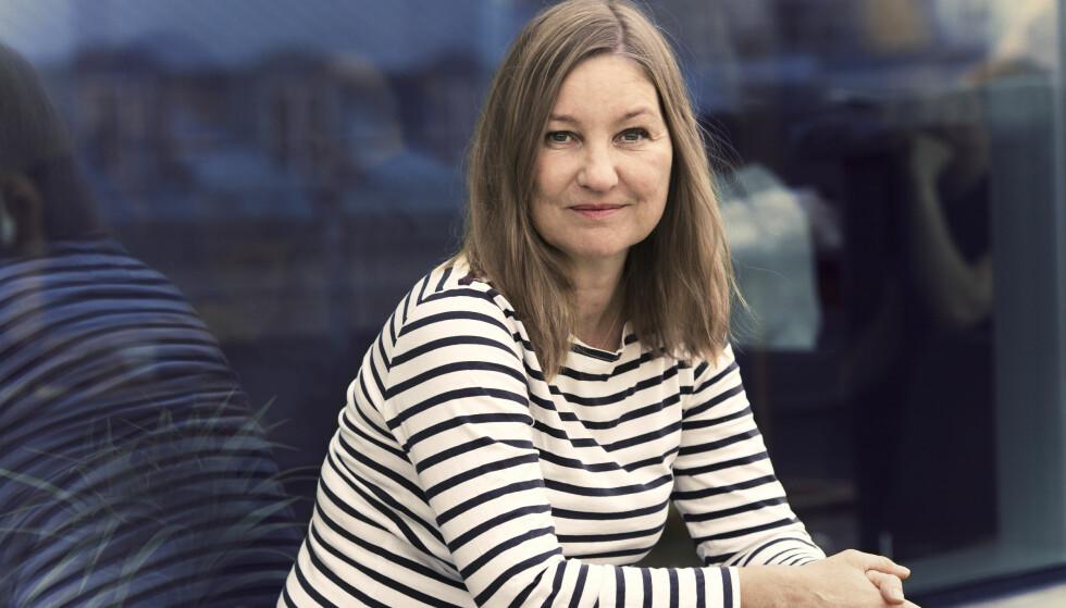 NAJA MARIE AIDT: I 2015 fikk den danske forfatteren Naja Marie Aidt en telefonsamtale som skulle forandre livet hennes. I den andre enden ble det opplyst om at sønnen hennes Carl hadde hoppet eller falt ut av et vindu i femte etasje i leiligheten i København. FOTO: Astrid Waller