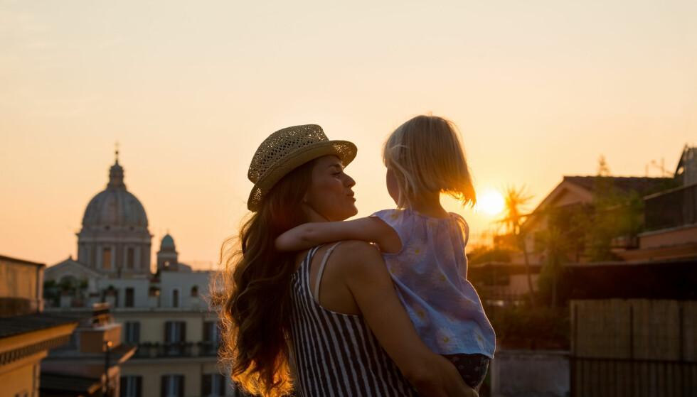 REISE MED BARN: Interrail øker i popularitet - også blant barnefamilier. ILLUSTRASJONSFOTO: NTB Scanpix