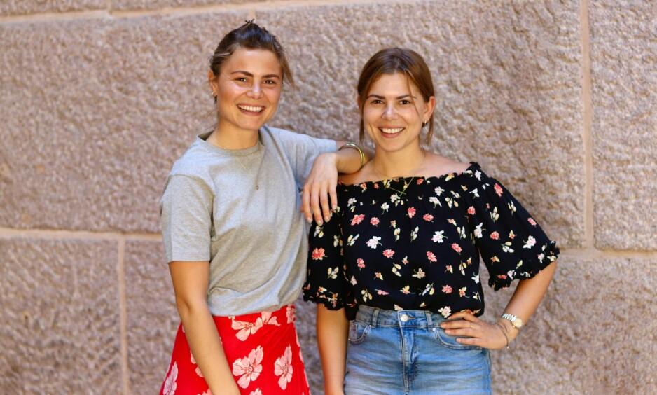 LEVE UTEN PLAST: Søstrene Susanne (til venstre) og Anette Bastviken tok steget videre ved å leve i en måned (nesten) helt uten plast. FOTO: Ida Bergersen