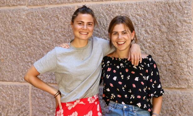 ET GRØNNERE OG BEDRE LIV: Susanne og Anette har totalt endret livsstil i løpet av de siste årene, både for miljøet, men også for sin egen helse. FOTO: Ida Bergersen