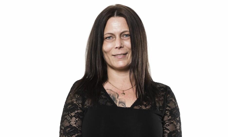 BLI NY: Slik så Tina Veronica ut før hun ble ny med KK. FOTO: Astrid Waller