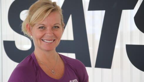 EKSPERTEN: Randi Christensen som er ansvarlig for gruppetrening i Norge i Sats Elixia.