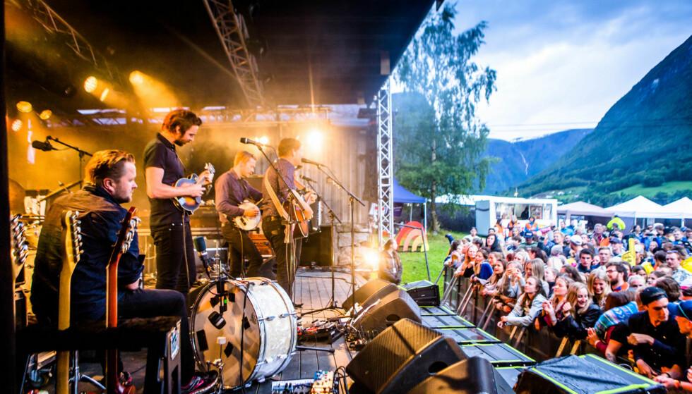 FRES FESTIVALEN: Fresvik er en liten bygd i Vik kommune i Sogn og Fjordane. FOTO: Sadam Ekdemir