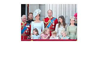 Savannah (7) stjal glansen fra hertuginne Meghans slottsbalkongdebut!