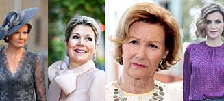 De fire dronningene deler samme sorg - mistet søstrene altfor tidlig