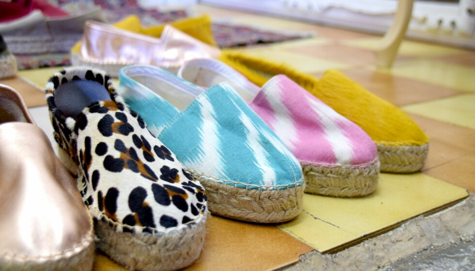 I butikken Magatzem de Santa Catalina kan du kjøpe håndlagde espadriller.