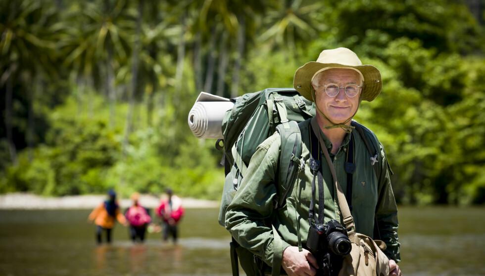 GODE TIPS PÅ FERIE: Gunnar Hasle ved Reiseklinikken, anbefaler ORS-løsninger til alle som har diare, men også til folk som skal ut på lengre turer, og være i aktivitet i flere timer. FOTO: Bo Mathisen